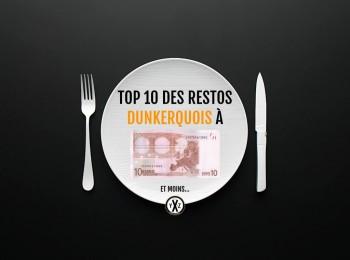 10 ADRESSES POUR BIEN MANGER À MOINS DE 1O EUROS À DUNKERQUE