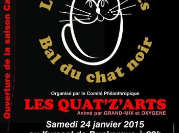 LES QUAT'Z'ARTS ET L'CHAT NOIR